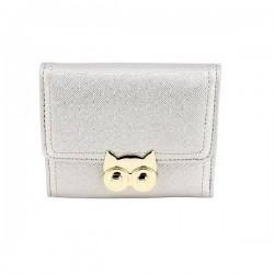 Anna Grace Silver/Aσημί  Πορτοφόλι/Wallet (LSP1090)