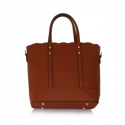 Ls Bags Brown/Καφέ Τσάντα Χειρός/ Ώμου(LS00361)