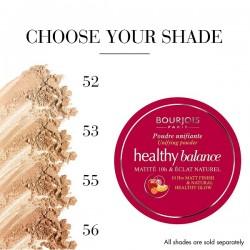 Bourjois Healthy Balance Unifying Powder 56 Light Tan