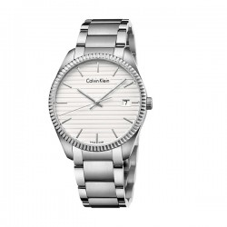 Calvin Klein Alliance Three Hands Stainless Steel Bracelet Ρολόι K5R31146